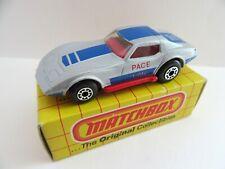 Matchbox Superfast 21d Corvette 'Pace Car' - Mint/Boxed
