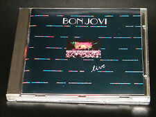 Bon Jovi Live Slippery When Wet Tour Cincinnati, Ohio 1987 Rare German Import CD