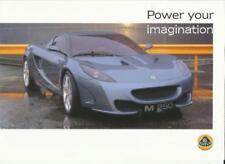 Lotus Paper 2000 Sales Car Brochures