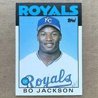Topps Traded 1986 Bo Jackson Kansas City Royals #50T MLB Baseball Rookie Card
