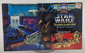 1997 Micro Machines Star Wars C-3PO Cantina Playset NEW SEALED Galoob