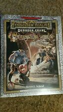 Hellgate Keep SEALED! Dungeons Dragons AD&D Forgotten Realms Module
