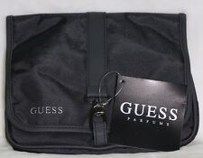 AUTHENTIC GUESS CLASSY TOILETRY BAG FOR MEN WITH HANGTAG CLOSURE NEW