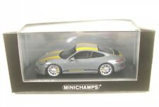 1 43 Minichamps Porsche 911 (991) R 2016 Grey/yellow