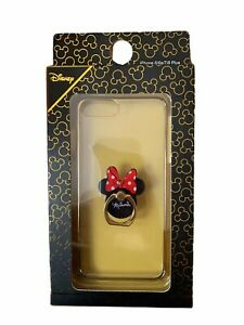 Disney Minnie Mouse iPhone Case Ring Stand 6 6s 7 8 Plus Clear Primark