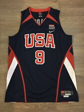 AUTHENTIC Jersey NBA Olympic WADE Size 44 /L