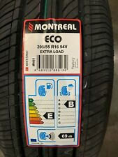 2 New 205 55 16 Montreal Eco Tires
