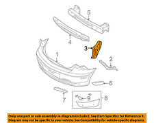 MAZDA OEM 04-09 3 Rear Bumper-Splash Shield Fender Liner Left B32H50351C