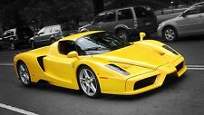 1 Ferrari F1 Racing GT Sport Race Car 12 Exotic Auto Racer Carousel Yello 18 Art