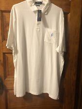 Polo Ralph Lauren Men's Classic Fit Short Sleeve Polo Shirt size XL White $69.50