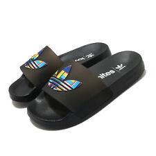 adidas Adilette Lite Pride LGBTQ Rainbow Black Men Women Unisex Sandals FY9017