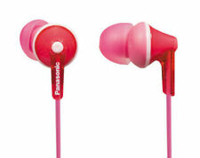 Panasonic RP-HJE125-P In-Ear Headphones - Pink