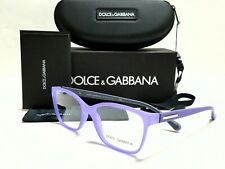 New Authentic DOLCE & GABBANA DG5008 2817 Lilac Rubber 54/15/140 Rx Eyeglasses