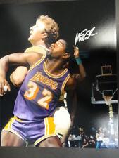 Magic Johnson Lakers Signed 16x20 Photo Autograph Auto Mounted Memories