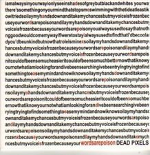 (BR142) Dead Pixels, Words Are Poison - DJ CD