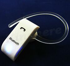 White Wireless Bluetooth Headset Earphone for Samsung Galaxy S5 Nokia 630 LG G3