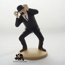 Tintin Figurine Dupond engoncé Collection Moulinsart Hergé résine Figure NEUF