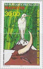 MAYOTTE 1998 45 C3 Pique-boeuf Bird Zebu Kuhreiher Bird Vogel Fauna Kuh Cow MNH