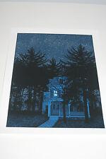Dan McCarthy The haunted Fish Tank Poster Art Print.  Glow In The Dark