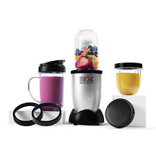 Magic Bullet Blender, Small, Silver, 11 Piece Set,FREE SHIPPING