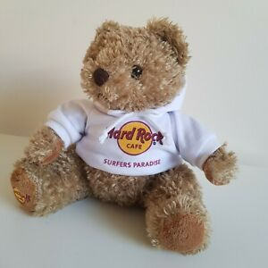 Surfers Paradise Teddy Bear Soft Plush Toy Hard Rock Cafe Gold Coast Collectable