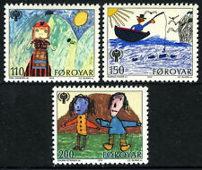 Faroe Islands 45-47,MNH.International Year of Child IYC.Children's Drawings,1979