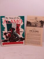 The Story Of The ALAMO-Told In Exciting Pictures 1955 Frederic Ray B6