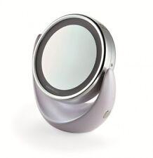 Specchio ingranditore 5 x con luce per trucco