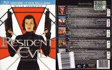 BOX BLU RAY FILM RESIDENT EVIL MOVIE-EXTICTION,AFTER LIFE,APOCALYPSE,RETRIBUTION