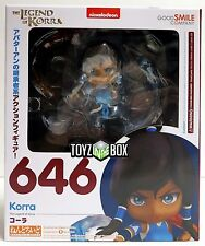 """In STOCK Good Smile Company The Legend of """"Korra"""" Nendoroid Action Figure 646"""