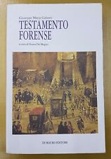 TESTAMENTO FORENSE GIUSEPPE MARIA GALANTI DI MAURO EDITORE