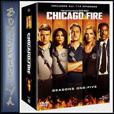 CHICAGO FIRE - COMPLETE SEASONS 1 2 3 4 & 5  **BRAND NEW DVD BOXSET***
