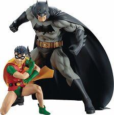 KOTOBUKIYA DC COMICS BATMAN & ROBIN ARTFX+ STATUE 2 PACK - NEW/BOXED