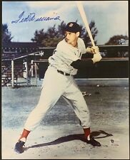 Ted Williams Boston Red Sox Signed 8x10 Photo Autographed GA COA