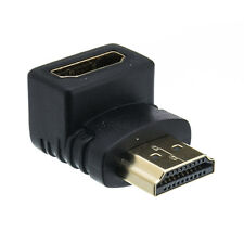 Lot of 50 HDMI Right Angle 1.4 Adapter Male to Female 90 Degree