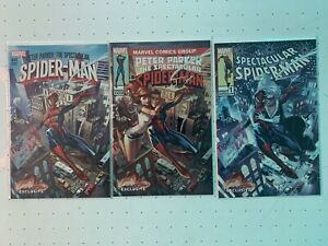 Peter Parker The Spectacular Spider-Man 1 J Scott Campbell EXCLUSIVE ABC Set NM+