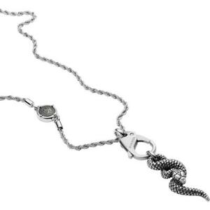 Diesel Mens Necklace DX1278040 Stainless Steel Snake