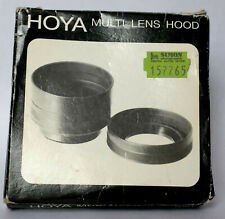 Hoya 62mm multi lens hood in box.