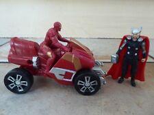 Marvel Avengers Age of Ultron Thor & Iron Man Figures & Arc ATV Vehicle Hasbro