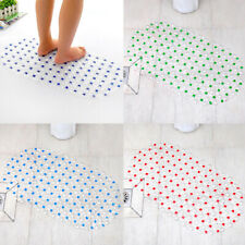 Bath Mat Non-Slip Pvc Anti-Slip Extra Strong Bubbles Suction Shower Mat