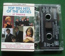 Top Ten Hits 60s Vol 2 Joe Cocker Move Ivy League Kinks + Cassette Tape TESTED
