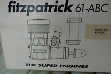 NIB FITZPATRICK  61 ABC 10cc 2 Stroke Nitro Engine Tuned Pipe Orig Box/Paperwork