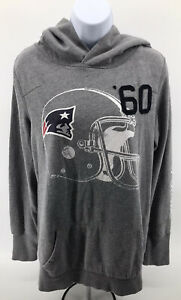 New England Patriots Pink Victorias Secret Love Hoodie Sweatshirt Womens S Small