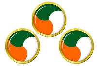 Irlandais Défense Forces Cocarde Marqueurs de Balles de Golf