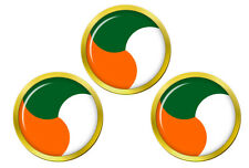 Irish Defence Forces Roundel Golf Ball Markers