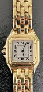 CARTIER PANTHERE 18 kt gold small