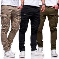Jack & Jones Jeans Hose Paul CHOP Anti-Fit Cargohose Khaki/Beige/Schwarz NEU