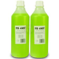 2x Fog Juice Smoke Machine Fluid Mist Liquid Halloween Effect DJ 2L TTB4581