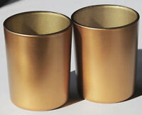 25 Matt Gold Tealight Candle Holder Wedding Event Xmas Table Room Party Decor