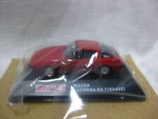 MAZDA SAVANNA RX-7 SA22C Red 1:72 Scale REAL-X Rotary HISTORIES Collection